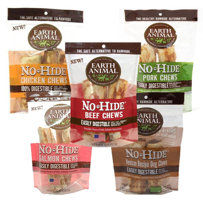 Earth Animal No Hide Chews - 2 Pack