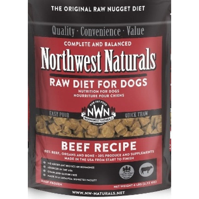 Northwest Natural Frozen Beef Nuggets 6 lb