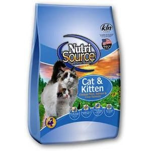 Nutrisource Chicken, Salmon and Liver Cat Food 6.6 lb