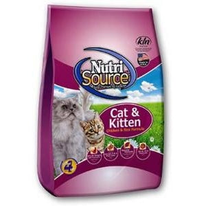 Nutrisource Cat and Kitten Chicken and Rice Food 6.6 lb
