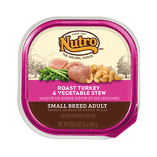 Nutro Natural Choice Small Breed Turkey and Vegetables 3.5 oz