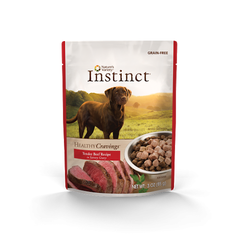 Nature's Variety Instinct Healthy Cravings: Beef 3 oz