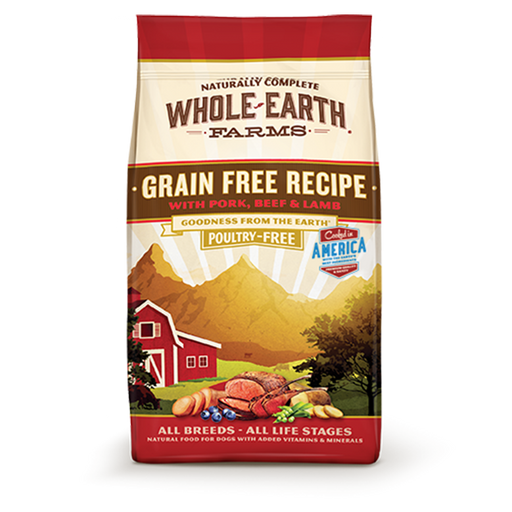 Merrick Whole Earth Farms Grain Free Pork, Beef  & Lamb