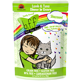 Weruva BFF Shazaam Lamb and Tuna 2.8 oz Pouch Cat Food
