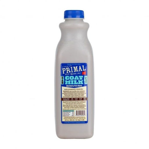 Primal Frozen Goat Milk, Blueberry Pom Burst 32 oz.