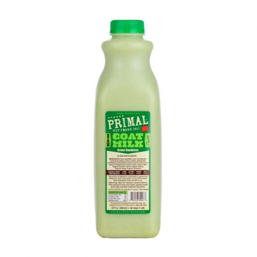 Primal Frozen Goat Milk, Green Goddess 32 oz.