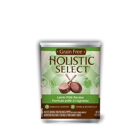 Holistic Select Grain Free Lamb Pate 13oz