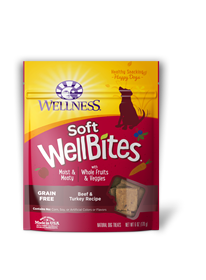 Wellness Wellbite Grain Free Beef/Turkey 6oz