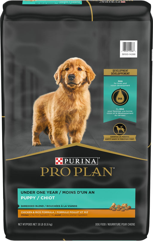 Purina Pro Plan Puppy Shredded Blend Chicken & Rice Formula