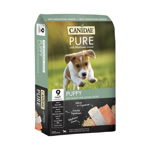 Canidae Pure with Wholesome Grains Puppy Real Salmon & Oatmeal Recipe Dry Dog Food