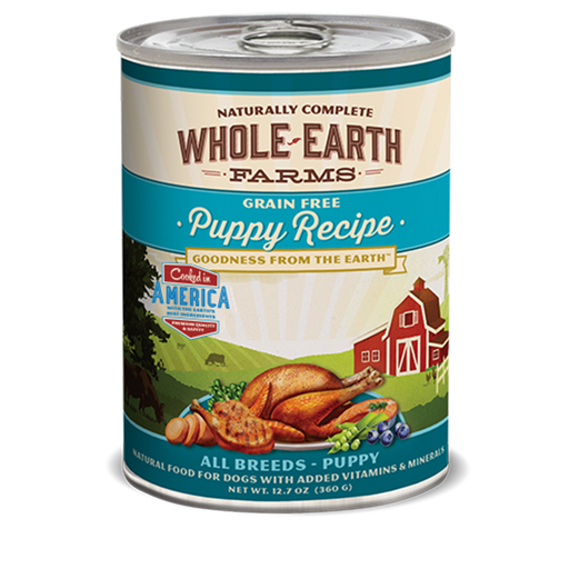 Merrick Whole Earth Farms Puppy Dog Food 12.7 oz