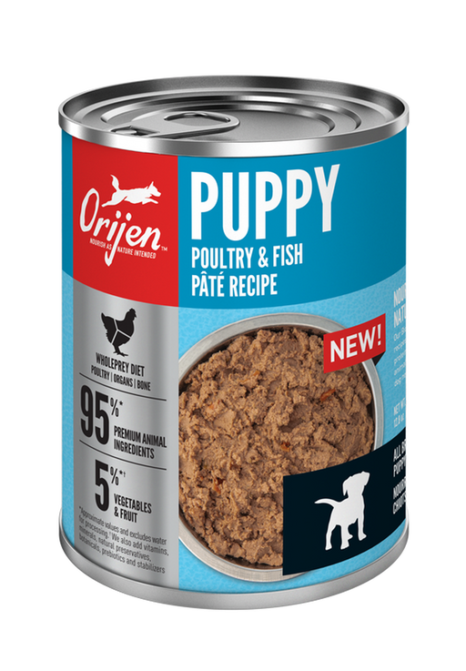 Orijen Puppy Poultry & Fish Paté Recipe, 12.8 oz