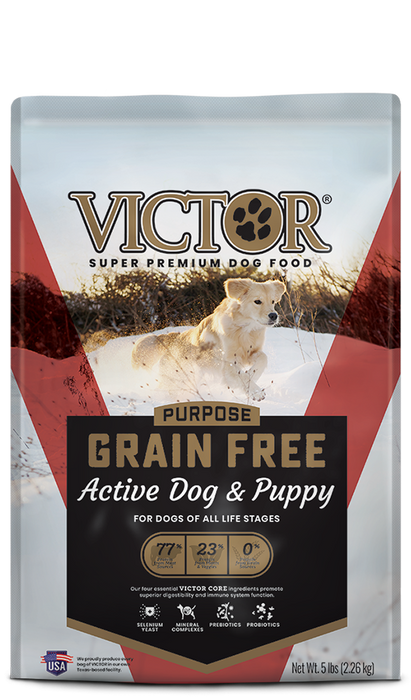 Victor Canine Grain Free Active Dog & Puppy