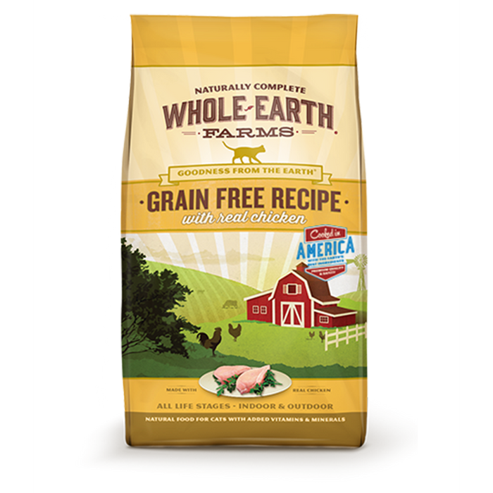 Merrick Whole Earth Farms Grain-Free Chicken Dry Cat Food 2.5 lb