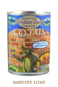 Lotus Grain Free Sardine Loaf 12.5 oz