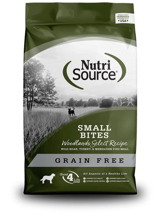 NutriSource Grain Free Woodlands Select Small Bites Woodlands Select Dry Dog Food 5 lb
