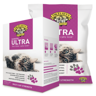 Dr. Elsey's Scented Ultra Premium Clumping Cat Litter, 40 lb