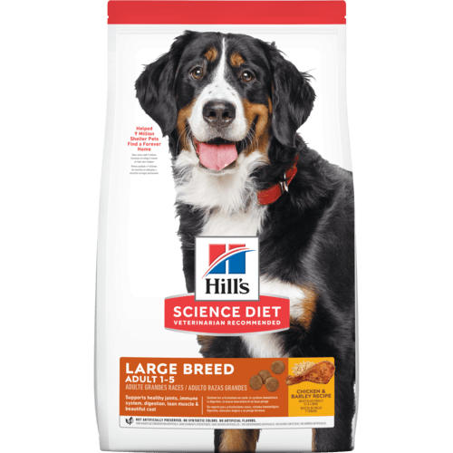 Science Diet Adult Large Breed 1-5yrs Chicken & Barley Recipe dog food