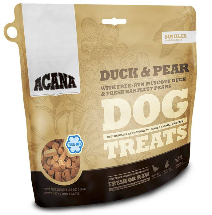 Acana Freeze Dried Dog Treat: Duck and Pear 3.25 oz