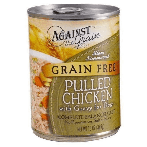 Against The Grain Chicken Dog Food 13oz