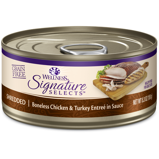 Wellness Signature Select Core Cat Chicken Turkey 5.3oz?