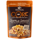 Wellness Core Simply Shreds Chicken, Chicken Liver and Broccoli 2.8 oz