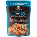 Wellness Core Simply Shreds Tuna, Beef and Carrots 2.8 oz