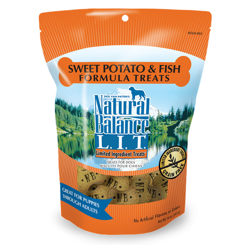Natural Balance L.I.T Sweet Potato & Fish Biscuits