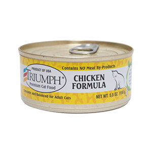 Triumph Chicken Cat Can 3 oz