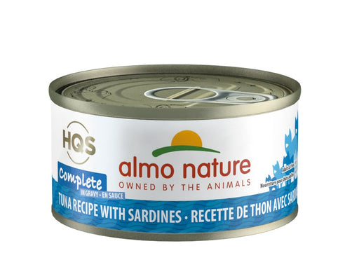 Almo Nature Complete Tuna Recipe with Sardines Wet Cat Food, 2.47 oz