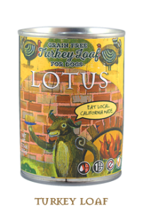 Lotus Grain Free Turkey Loaf 12.5 oz