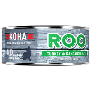 Koha Cat Turkey/Kangaroo Grain free 5.5oz