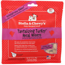 Stella & Chewy's Dog Tantalizing Turkey Meal Mixers - 3.5 oz