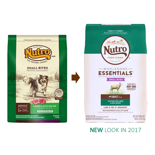 Nutro Wholesome Essentials Small Bites Lamb and Brown Rice 5 lbs
