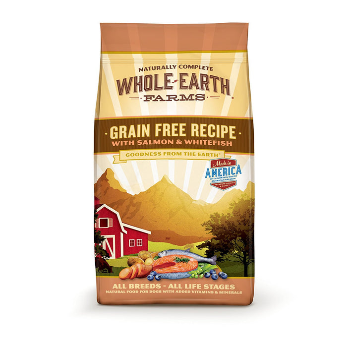Whole Earth Farms Grain Free Salmon and Whitefish 4lb