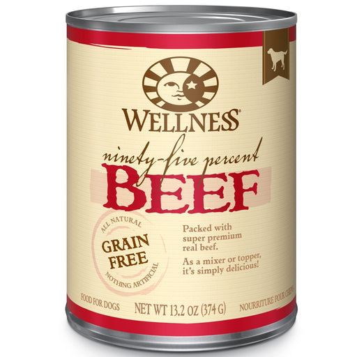 Wellness 95% Beef Dog Food 13 oz