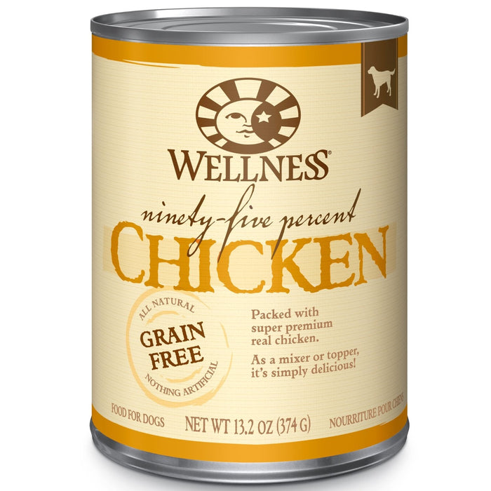 Wellness 95% Chicken Dog Food 13 oz