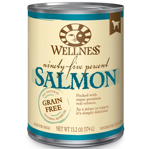 Wellness 95% Salmon Dog Food 13 oz