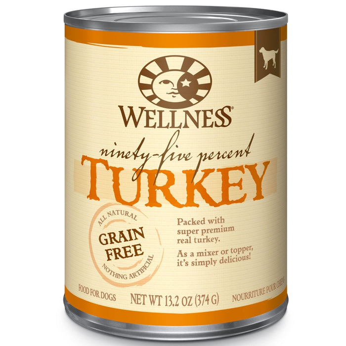 Wellness 95% Turkey Dog Food 13 oz