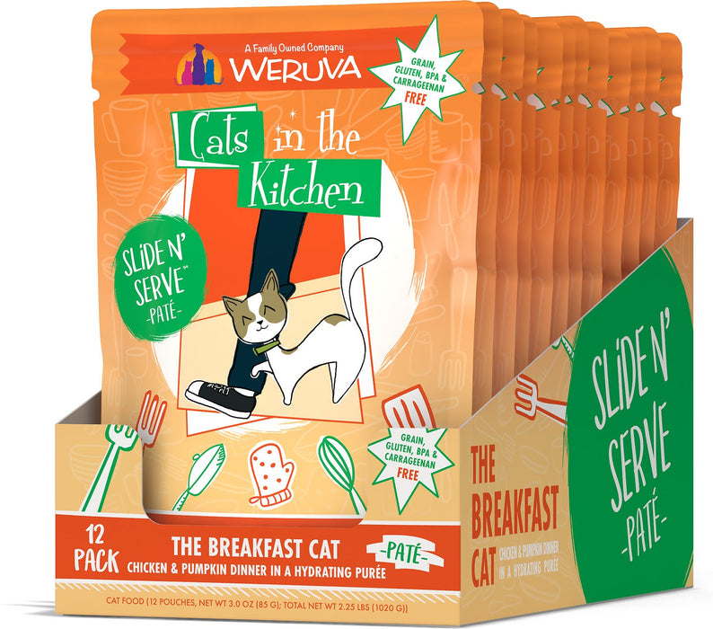 Weruva Cats in the Kitchen: The Breakfast Cat, 3 oz Wet Cat Food