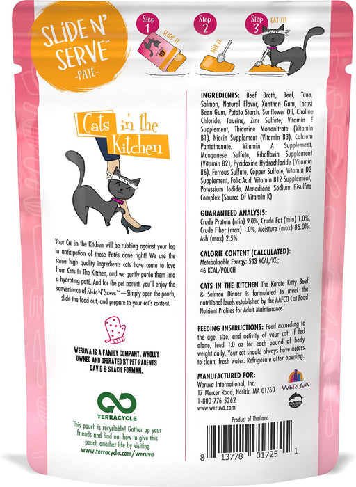 Weruva Cats in the Kitchen: The Karate Kitty, 3 oz Wet Cat Food