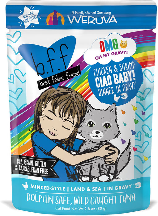 Weruva BFF Ciao Baby! Chicken & Shrimp 2.8 oz Wet Cat Food