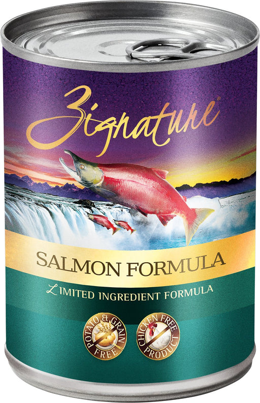 Zignature Salmon Limited Ingredient Formula Grain-Free Wet Food, 13 oz