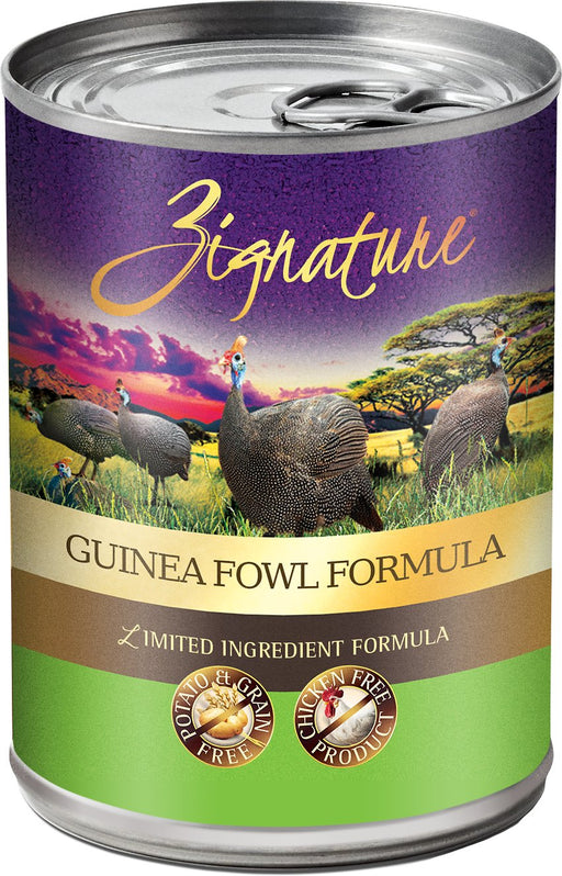 Zignature Limited Ingredient Wet Dog Food, Guinea Fowl 13 oz