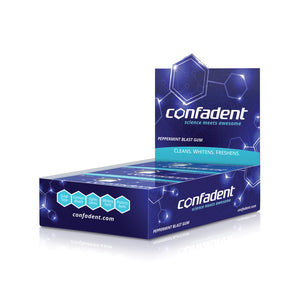 Confadent Dental Chewing Gum Twelve Sleeves (96 Pieces)