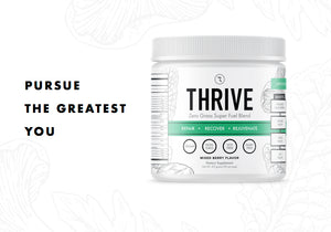 THRIVE:  Superfood Green Juice  (30 servings) 25% OFF @ Checkout!