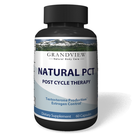 Image of Natural PCT-Post Cycle Therapy Kickstarts Natural Testosterone Production Restores Normal Hormone Levels Helps Maintain Muscle Mass Support Healthy Liver Function - 60 Capsules