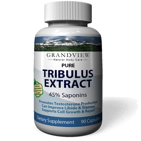 Tribulus Pure – All Natural, 100% Pure Helps Balance Hormone Levels Natural Aphrodisiac Helps Increase Stamina Tribulus Pure 90 Caps