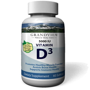 Vitamin D3 5000 IU - Total Body Health. Healthy Teeth, Bones, Skin, & Immune System Strengthens Bones Helps Regulate Blood Sugar and Blood Pressure Supports a Healthy Immune System Helps the Body Absorb Calcium