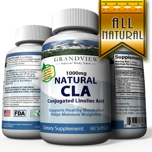 CLA Softgel (Conjugated Linoleic Acid). Extra High Potency Supports Healthy Weight Management Lean Muscle Mass Non-Stimulating Conjugated Linoleic Acid - 60 servings